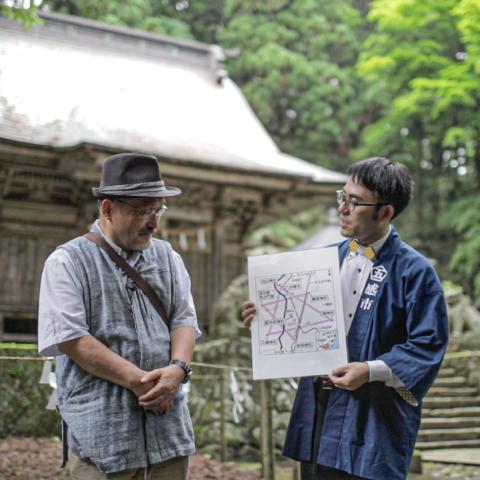 「GoToトラベル事業支援対象」 金田先生と行く、岩手の六芒星探訪ツアー