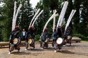 束稲山麓地域の伝統芸能